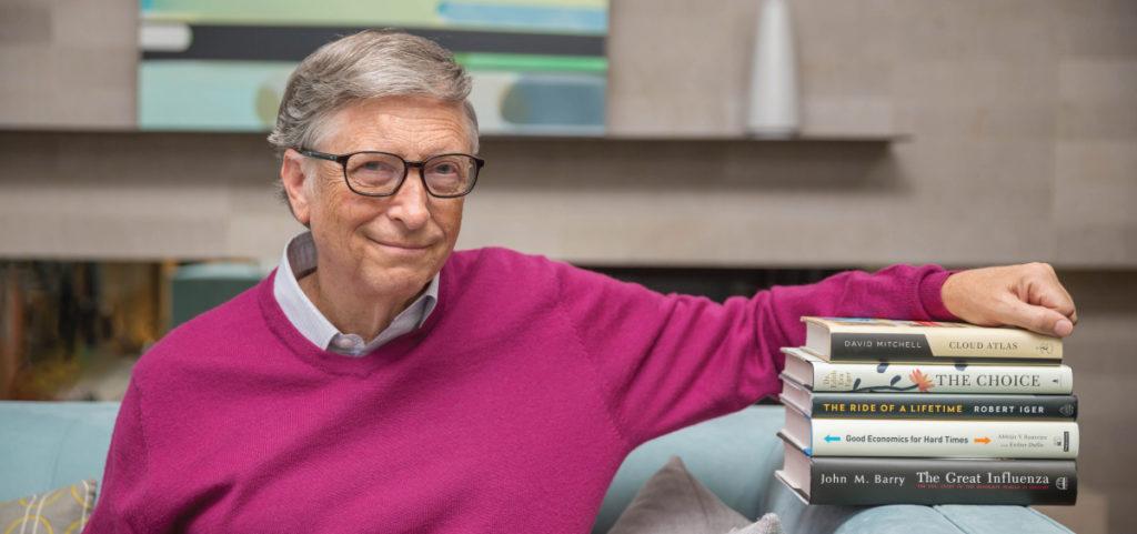 15 książek polecanych przez Billa Gatesa