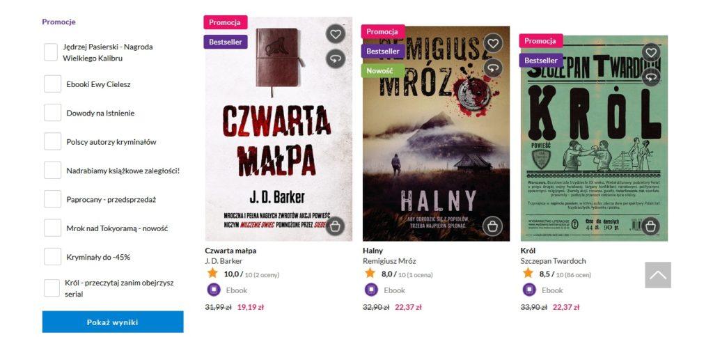 Ebooki w księgarni Woblink