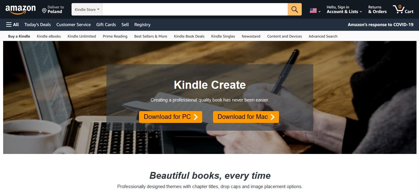 Jak tworzyć ebooki w programie Kindle Create? [Poradnik] - www.naczytniku.pl