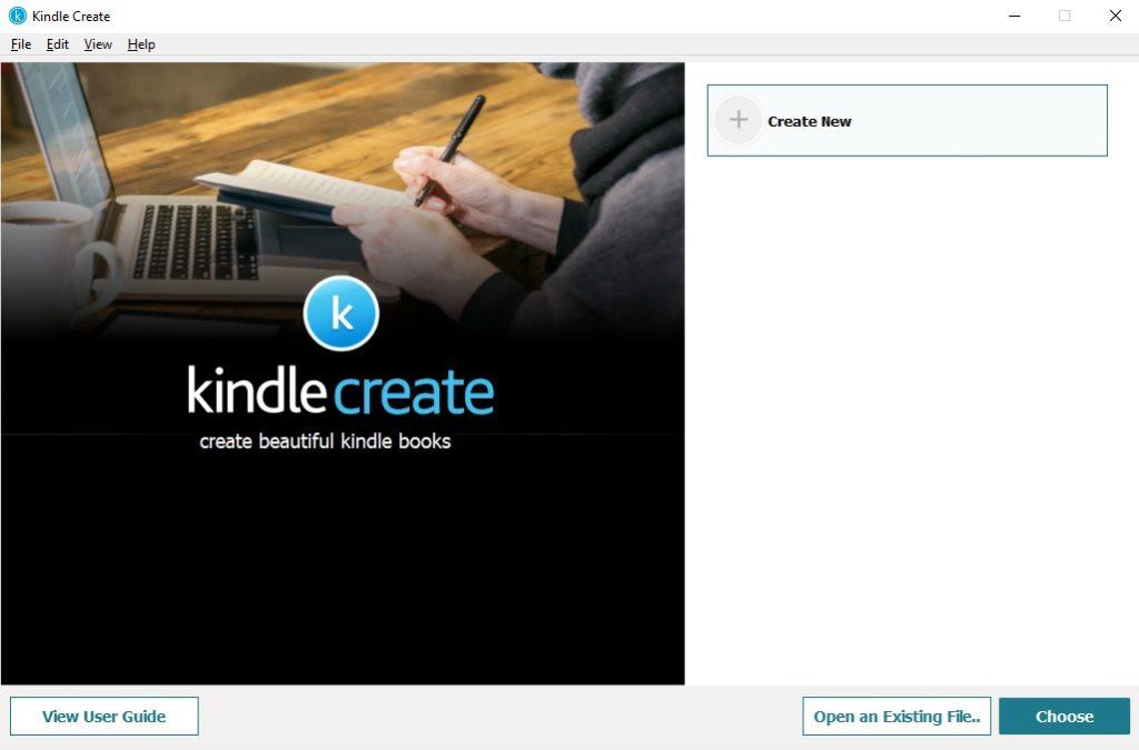 Wgrywanie pliku do programu Kindle Create