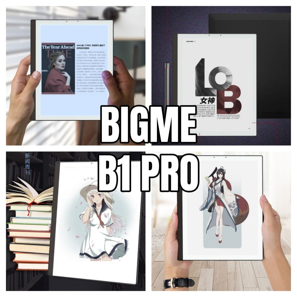 Kolorowy tablet E Ink Bigme B1 Pro