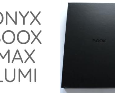 Unboxing czytnika Onyx Boox Max Lumi