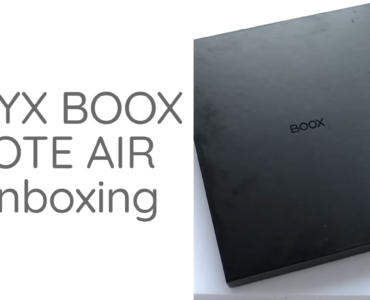onyx boox note air unboxing
