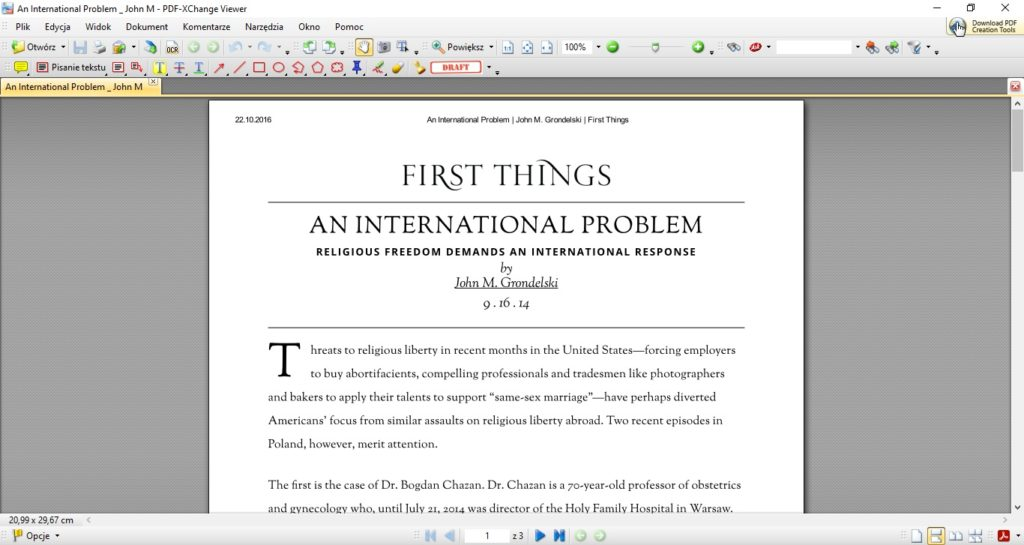 Aplikacja do konwersji plików PDF K2pdfopt