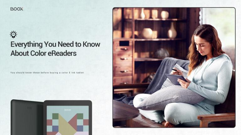 Wszystko, co musisz wiedzieć o kolorowych czytnikach ebooków (Onyx Boox Nova 3 Color)