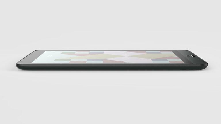 Wyświetlacz umieszczony na równym poziomie z ramką (Onyx Boox Nova 3 Color)