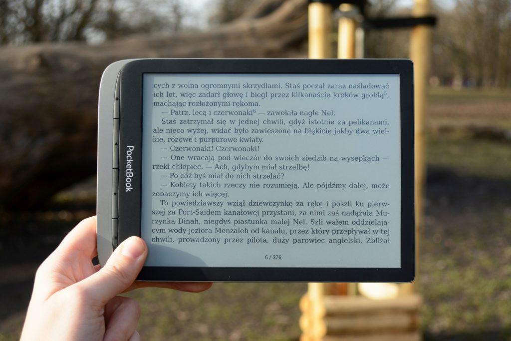 Czytanie ebooków na czytniku PocketBook InkPad Color