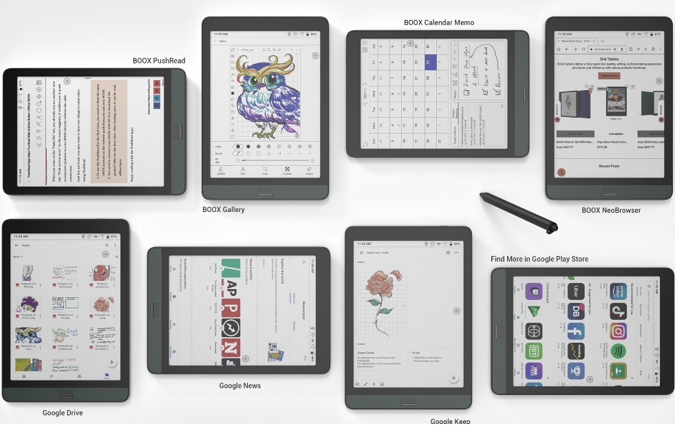 Tablet E Ink do pracy [Onyx Boox Nova 3 Color]