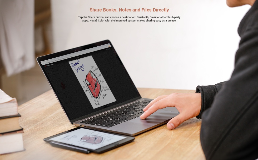Synchronizacja plików przez Internet na czytniku Onyx Boox Nova 3 Color