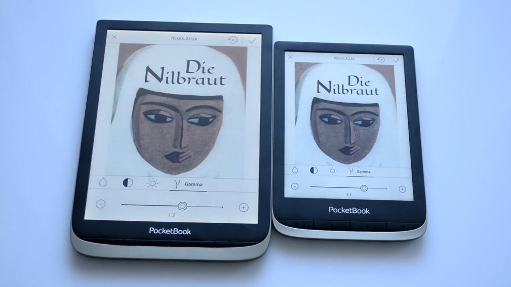 Obsługa komiksów [PocketBook Color vs PocketBook InkPad Color]