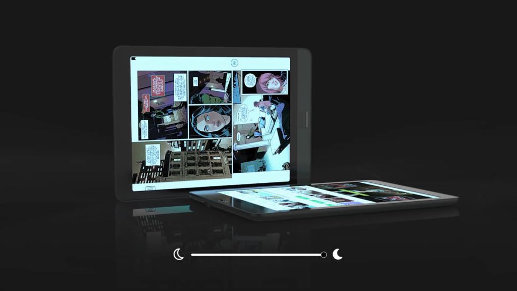 Wbudowane podświetlenie czytnika Onyx Boox Nova 3 Color