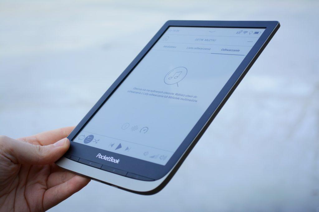 Aplikacja do plików audio na czytniku PocketBook InkPad Color