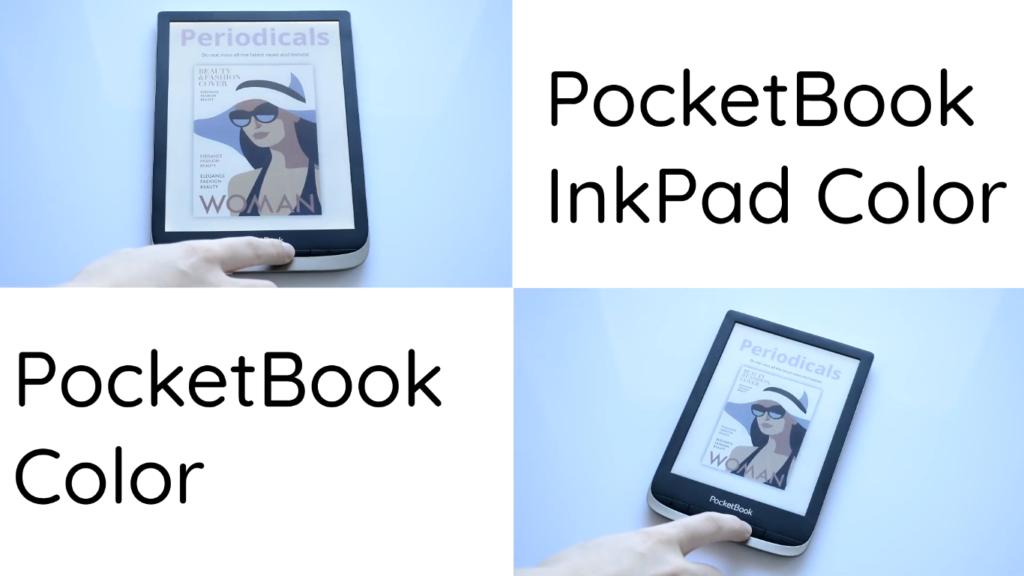 PocketBook Color vs PocketBook InkPad Color