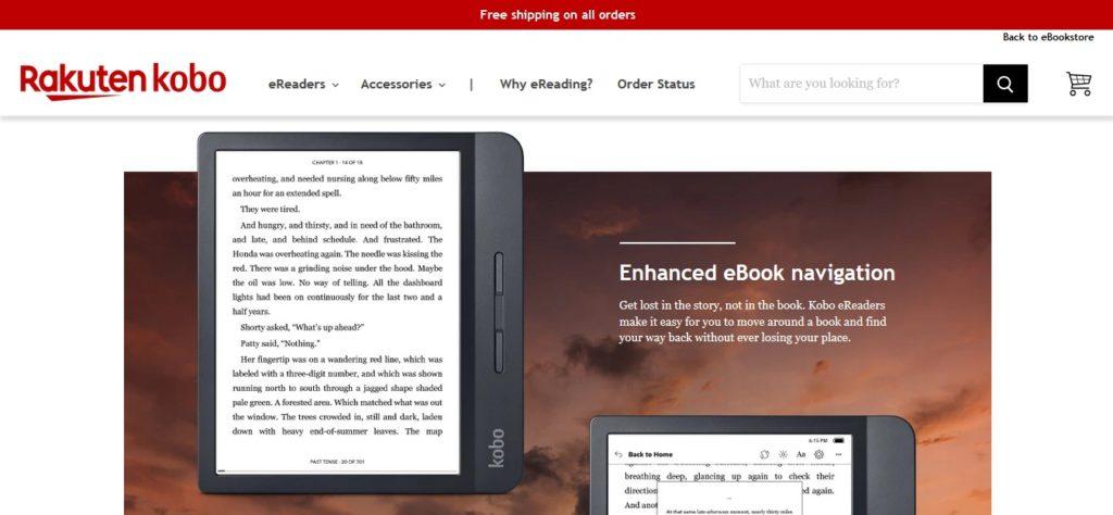 Kolorowy czytnik ebooków w ofercie Kobo?
