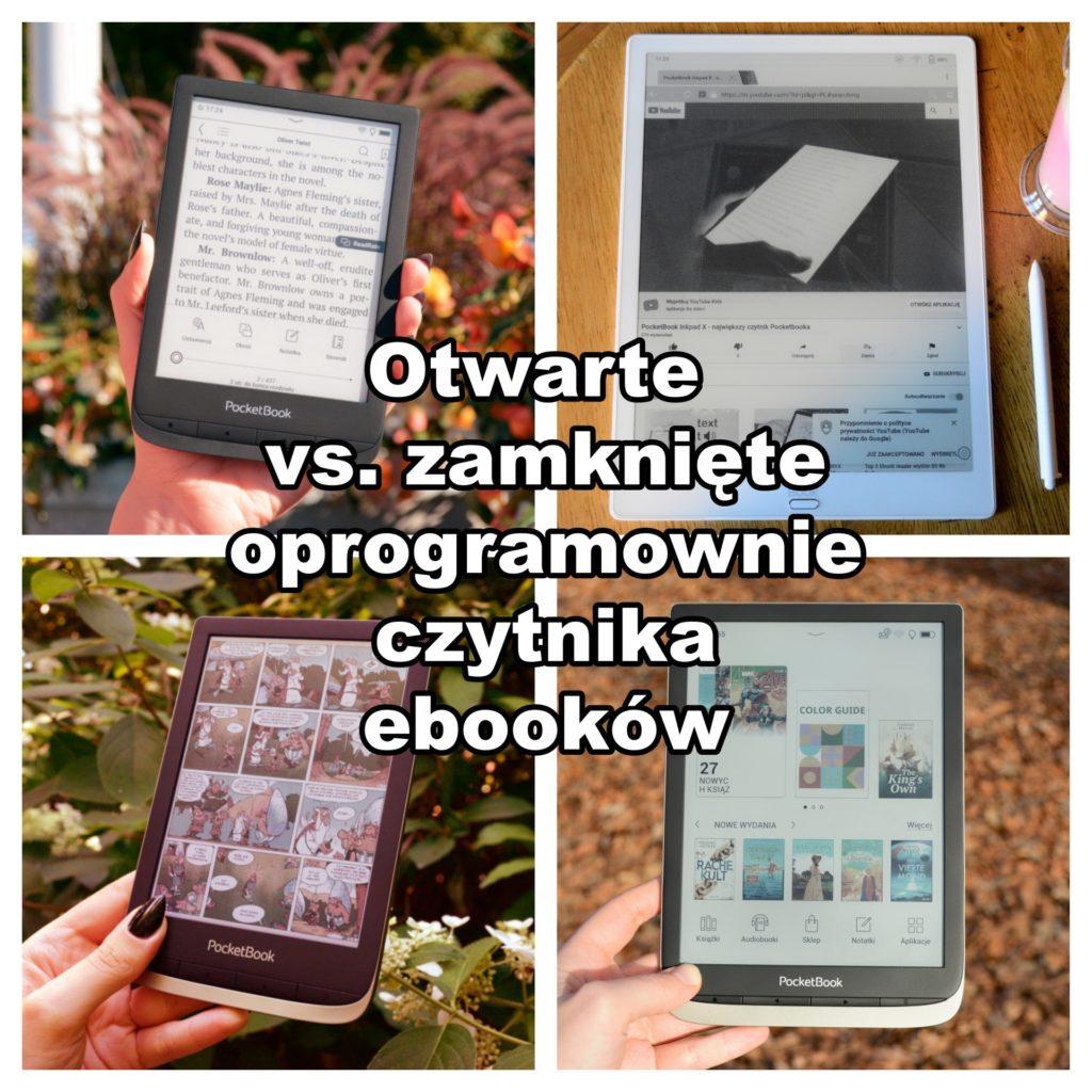 Otwarte vs. zamknięte oprogramowanie czytnika ebooków