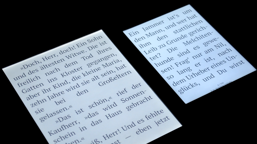 Podświetlenie ekranu [PocketBook Color vs PocketBook InkPad Color]