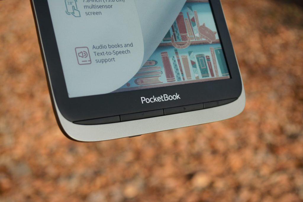 Przyciski fizyczne do zmiany stron w czytniku PocketBook InkPad Color