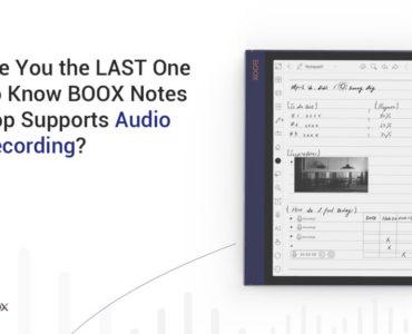Nagrywanie notatek audio na czytnikach Onyx Boox [Poradnik]