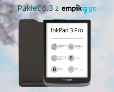 Firmware 6.3 dla InkPad 3 Pro przynosi aplikację Empik Go i aktualizacje w Legimi [informacja prasowa]
