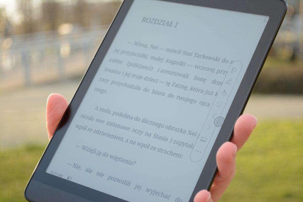 Czytanie ebooków na czytniku Onyx Boox Nova 3 Color