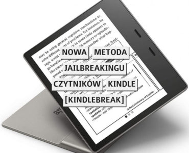 Nowa metoda jailbreakinu czytników Kindle [KindleBreak]