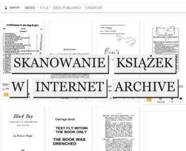 Zeskanowane książki w Internet Archive