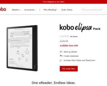 Czy warto kupić 10.3-calowy czytnik Kobo Elipsa?