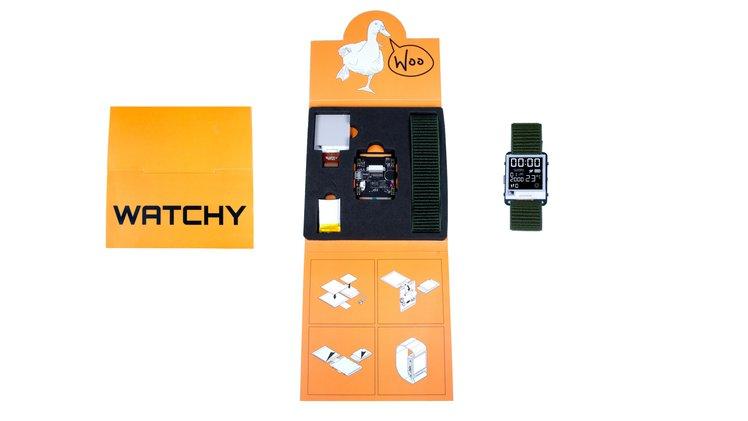 Zestaw z zegarkiem Watchy