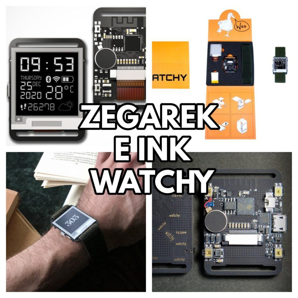 Czy warto kupić zegarek E-Ink Watchy?