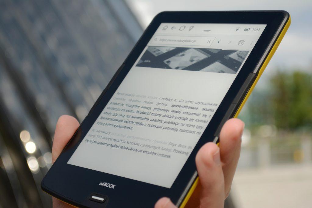 Przeglądanie Internetu na czytniku InkBOOK Calypso Plus