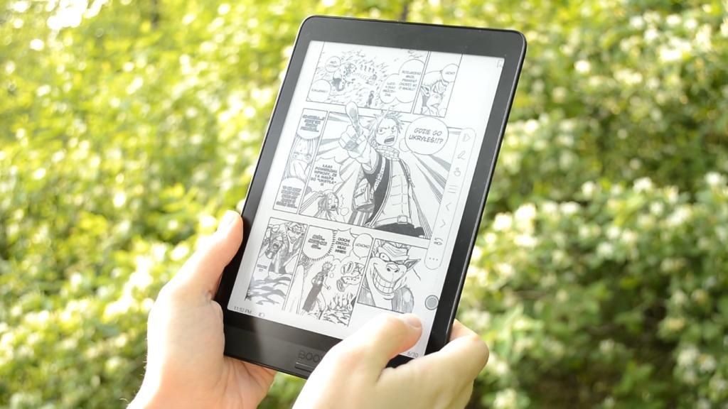 Czytanie komiksów na czytniku Onyx Boox Nova 3