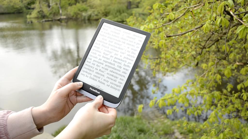 Czytanie ebooków na czytniku PocketBook InkPad 3 Pro