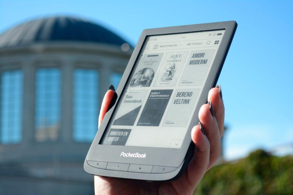 Biblioteka ebooków PocketBooka Touch Lux 5