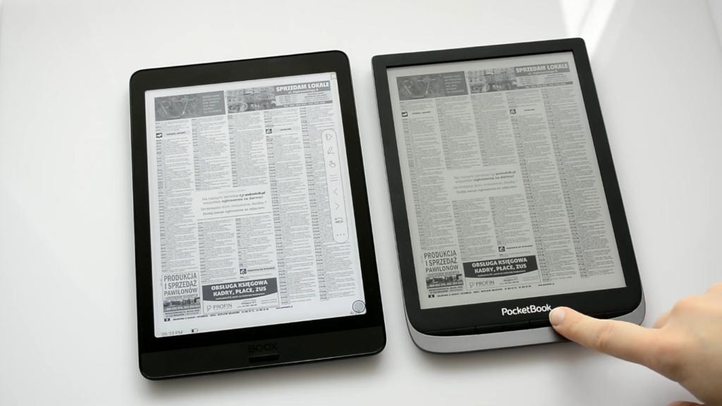 Czytanie PDFów na czytnikach Onyx Boox Nova 3 i PocketBook InkPad 3 Pro