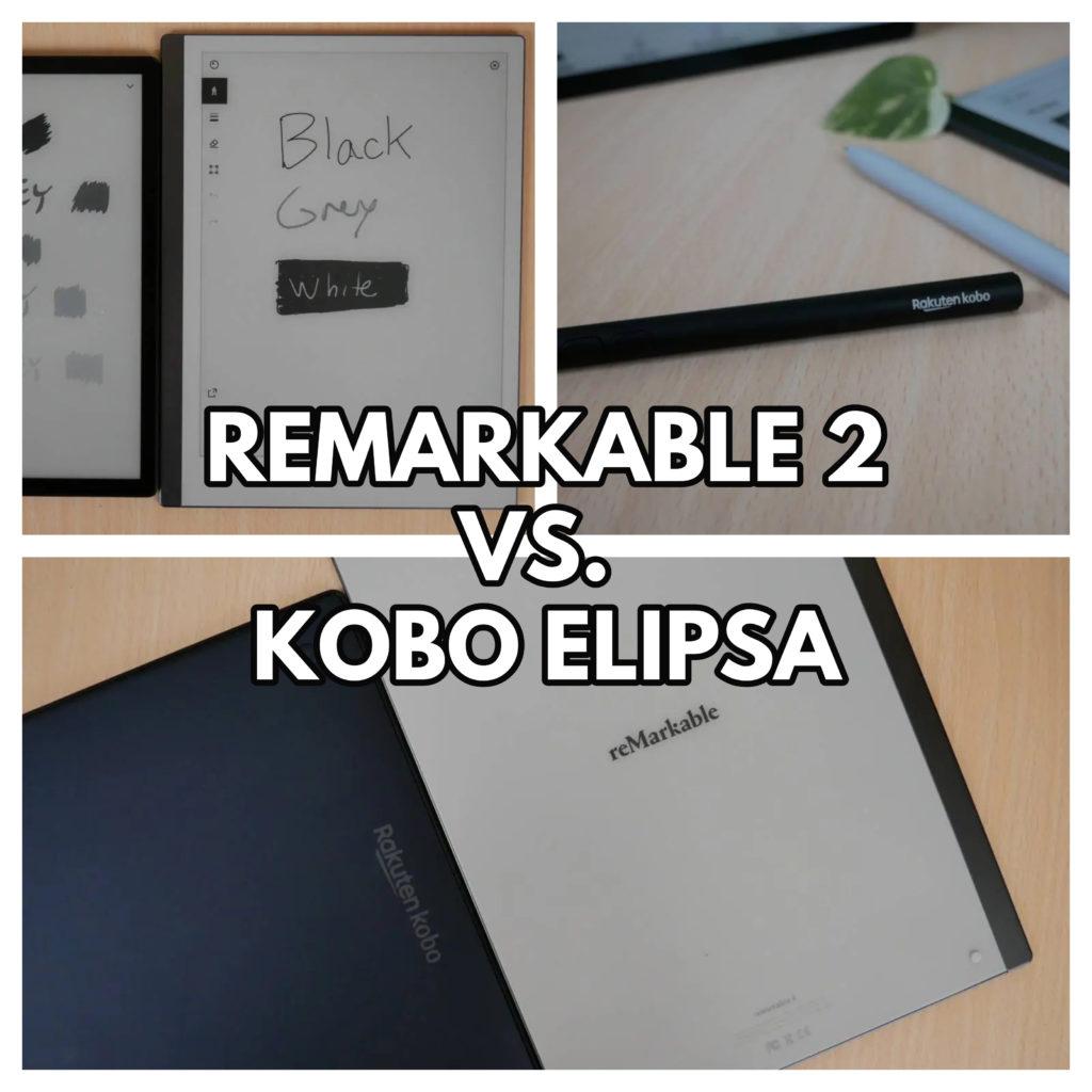 Remarkable 2 vs. Kobo Elipsa [porównanie narzędzi do robienia elektronicznych notatek]