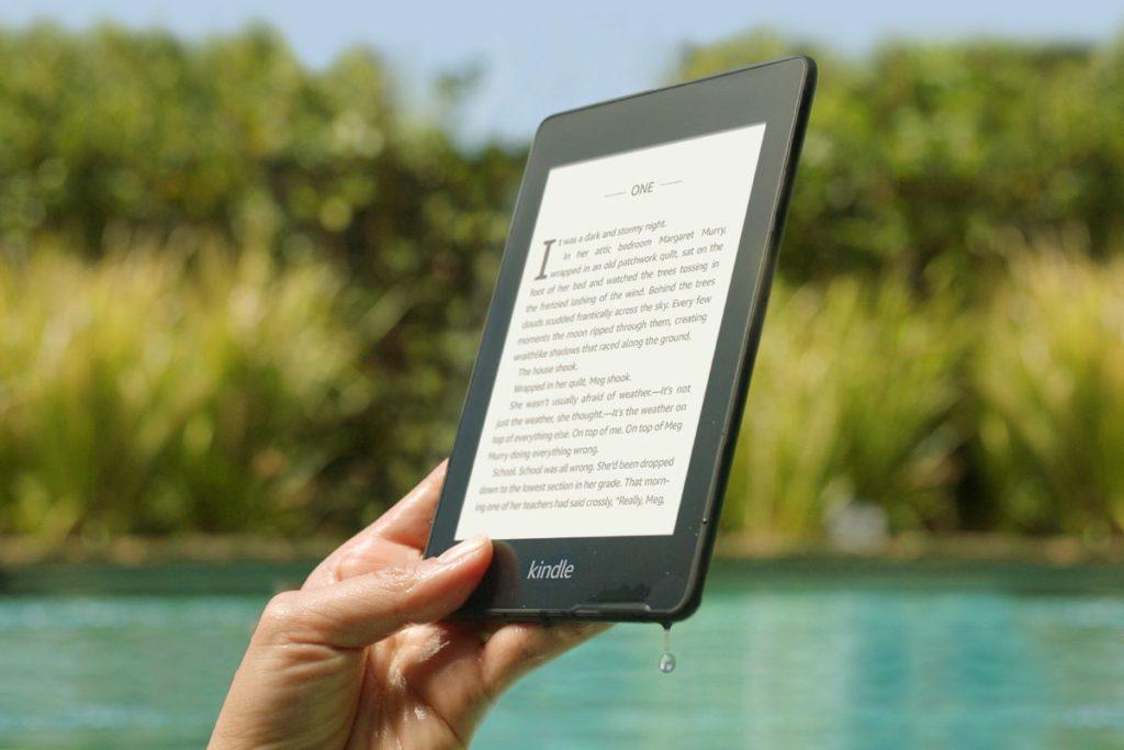 Czytnik Kindle paperwhite 5 6.8-cala doskonały do lektury e-booków.