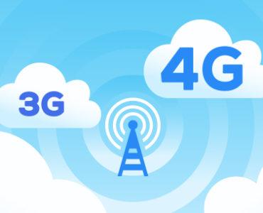 Sieć komórkowa 3G i 4G